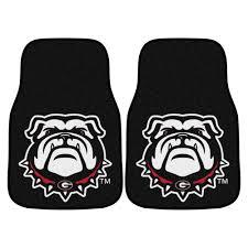 Georgia Bulldog Rugs Bulldogs U0026 Lady Bulldogs 2pc Carpet Floor Mat Set Nylon U0026 Vinyl