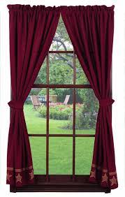 Wine Colored Curtains 55 Best Shop Curtains Images On Pinterest Blinds Primitive