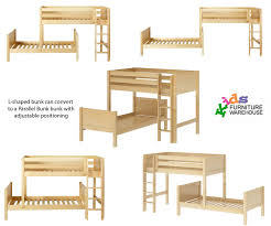 Bunk Bed L Shape Fascinating Shaped Bunk Beds Low Shape Ceiling For Ikea Pic
