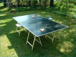 ping pong table cost built a ping pong table cost 150 00 diditmyself garden yard