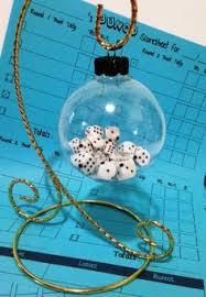 bunco ornament dice craft ideas ornament bunco
