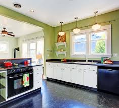cabinet green and black kitchen kitchen cabinets contemporary