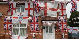 England Flag Round Decorating Your House Hang The Union Jack The Right Ruddy Way