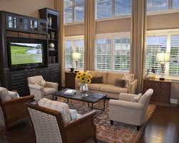 Best Two Story Room Images On Pinterest Architecture Home - Two story family room decorating ideas