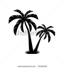 palm tree silhouette stock images royalty free images vectors