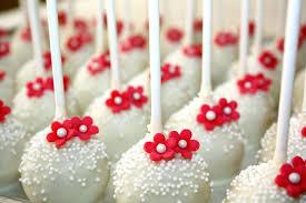 wedding cake pops wedding cake pops with flowers