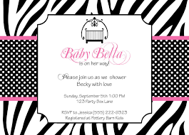 baby shower invitations at party city zebra baby shower invitations theruntime com