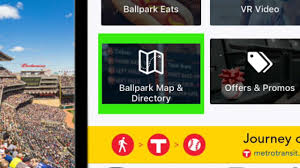 Mlb Map Downloading The Mlb Ballpark App Mlb Com
