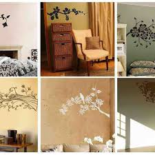how decorate wall lots ideas between stencil and painting bedroom wall decor ideas buddyberries for how decorate lots between