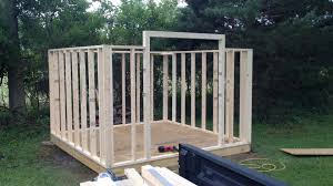 how to build a mini barn part two framing youtube