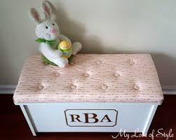Build A Toy Box Bench by Diy Toy Box Bench Cushion My Love Of Style U2013 My Love Of Style