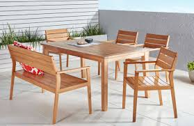 Patio Dining Set With Bench Outdoor Outdoor Dining Sets With Umbrella Outdoor Lounge Chairs