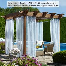 White Metal Patio Furniture - decorating exciting outdoor curtain panels for inspiring outdoor