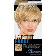 hair frosting for dark hair l oreal paris le petite frost hi precision pull through cap