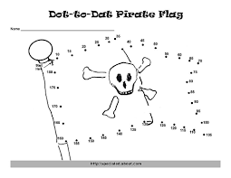 Halloween Dot To Dot Printables by A Pirate Hat Dot To Dot To Support Skip Counting
