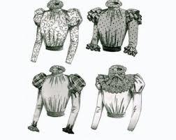 butterick 3417 edwardian steampunk blouse pattern size 12 14 16