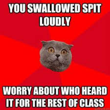 Socially Awkward Penguin Meme Generator - me in every class discussion funny and more pinterest