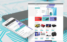 electronics store responsive motocms ecommerce template 59527