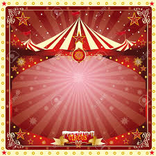 new year s card a circus christmas or happy new year s card for you royalty free