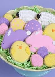 Easter Food And Decorations by
