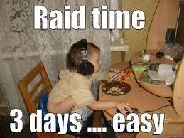 Raid Meme - so you think you can raid dark cloud guild