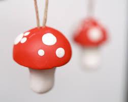 diy clay toadstool ornaments christmasornaments com
