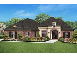 european house plan with 1800 square feet and 3 bedrooms from