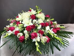 flower delivery dallas pink and white casket spray flower delivery dallas tx i