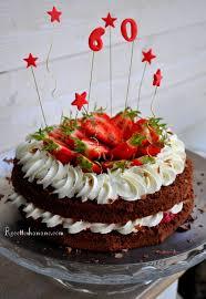 hanane cuisine layer cake chocolat fraises framboises recettes by hanane