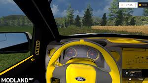 Ford Raptor Yellow - ford f150 police raptor v 1 0 mod for farming simulator 2015 15