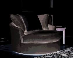 Black And White Armchairs Sofas Magnificent Big Round Swivel Chair White Leather Swivel