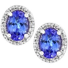 tanzanite stud earrings tanzanite earrings shop for tanzanite earrings on polyvore