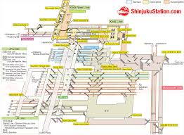 shinagawa station map shinjuku station map finding your way shinjuku station