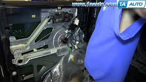 how to install replace power window motor gmc savana chevy express