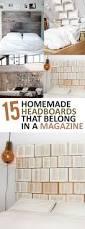 Easy Headboard Ideas 15 Homemade Headboards That Belong In A Magazine