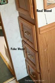 sanding cabinets for painting drawers with fake wood before painting special paint no sanding or