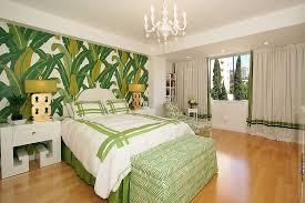 green wallpaper room 25 chic and serene green bedroom ideas