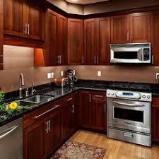 Wood Kitchen Designs Black Granite With Cherry Cabinets Kitchen Jpg Kitchen