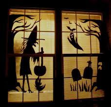 halloween window drawings u2013 fun for halloween