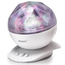 soaiy aurora borealis ocean wave projector lamp night light mood