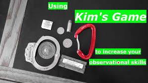 using kim u0027s game to increase your observational skills