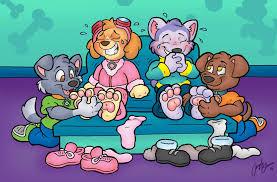 tickle feet animation deviantart www tlapkova patrola estranky cz epizody epizody