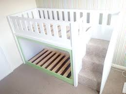 Loft Bed With Crib Underneath Loft Beds Crib Loft Bed Size Of Bunk Beds With