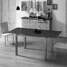Esszimmertisch Oval Schwarz Glas Esstisch Kiko In Schwarz Ausziehbar Wohnen De