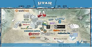 Maps Of Utah by Making A Leap Interactive Map Of Utah Tech Companies