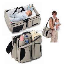 travel baby bed images Baby bag 3 in 1 diaper bag travel bed change station kids jpg