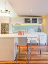 Art Deco Kitchen Houzz - Art deco kitchen cabinets