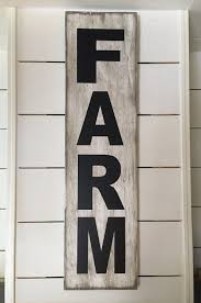 Rustic Wood Home Decor by Farm Sign Farmhouse Signs Rustic Wood Signs Farmhouse Wall Decor