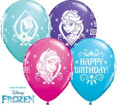 frozen balloons disney frozen birthday balloons 25pcs free delivery