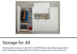kitchen storage cabinets lowes estate by rsi 38 5 in w wood composite wall mount utility